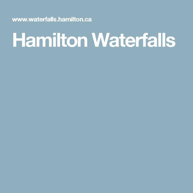 Hamilton Waterfalls