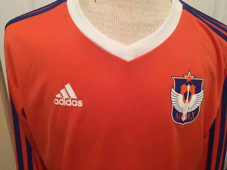 Adidas Albirex Niigata Soccer Athletic Jersey Style Shirt Mens Large Japan    #adidas #AlbirexNiigata