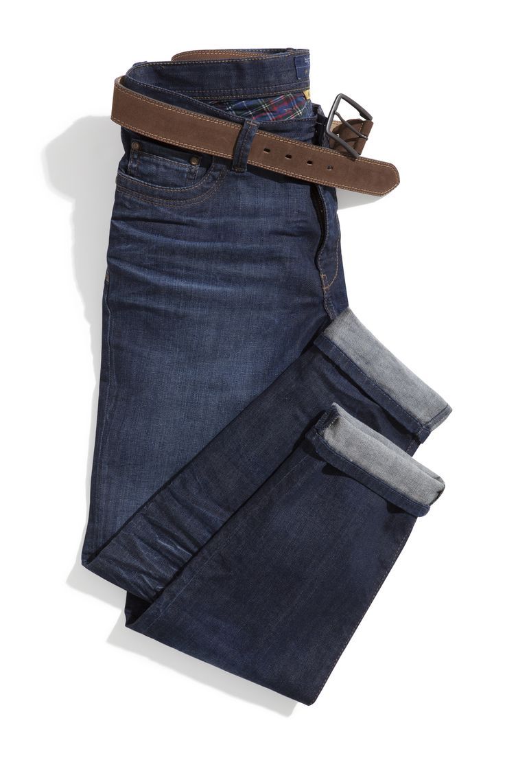 #FridaysFavourite | Plain blue jeans with brown leather belt #bugattifashion #jeans