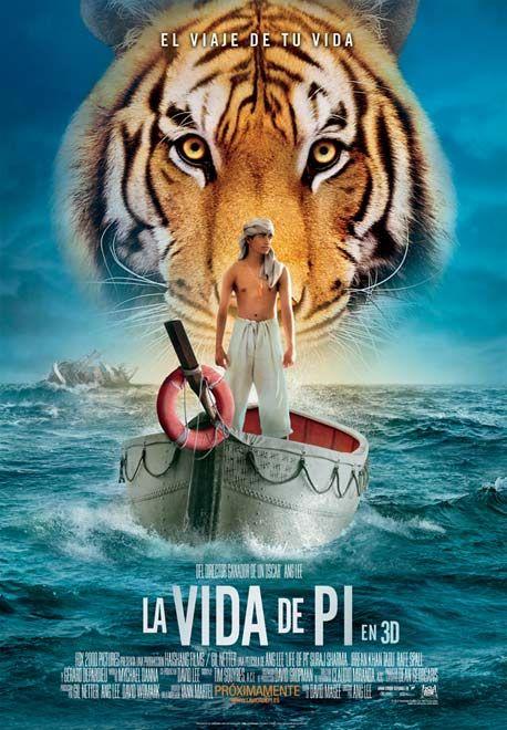 El director Ang Lee (Brokeback Mountain, Tigre y Dragón) crea una impresionante y espectacular película sobre un joven que sobrevive a un fatídico desastre en el mar y se embarca en un viaje épico de aventura y descubrimientos. Quedando a la deriva en un bote salvavidas, labrará una emocionante, increíble e inesperada relación con el otro superviviente del barco, un tigre de bengala.  Para más info: http://www.madridxanadu.com/index.php?option=com_content=view=849=58