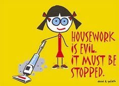 well that takes care of the #housework