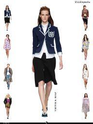 """Я увидел это в статье """"Подростковая мода – в модном авангарде."""" выпуска ELLE Март 2014 FLOWER & BEAUTY."""