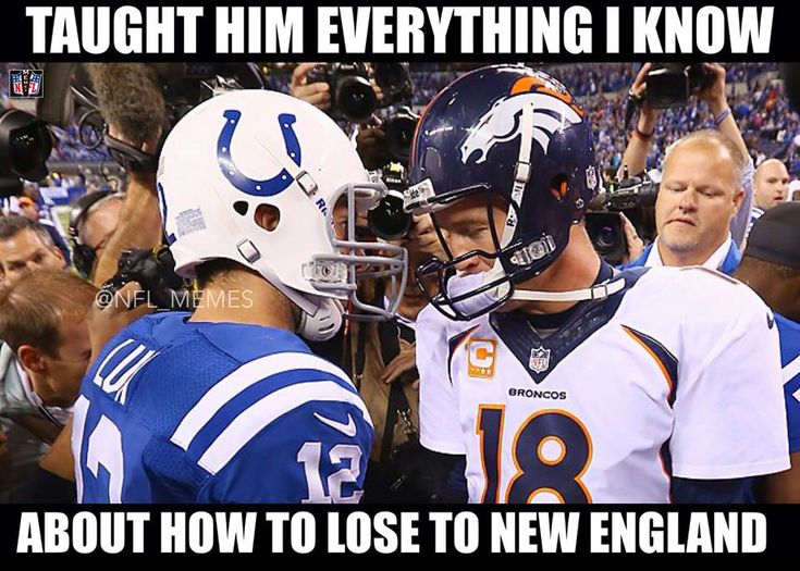 Colts Defense Memes | Indianapolis Colts Fans Still Complaining New England Patriots ...