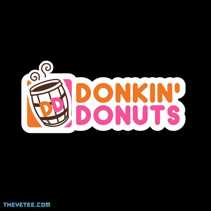 Donkin' Donuts By Unlikely Yuusha, today at The Yetee!