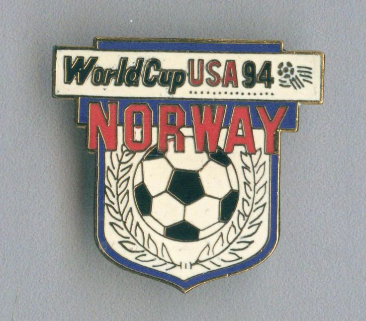 Official Norway National Football Soccer Team pin badge FIFA World Cup USA 1994  | eBay