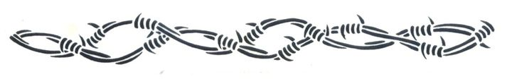 Cool Barbed Wire Armband Tattoo Design