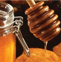 Use honey as a natural sweetener!
