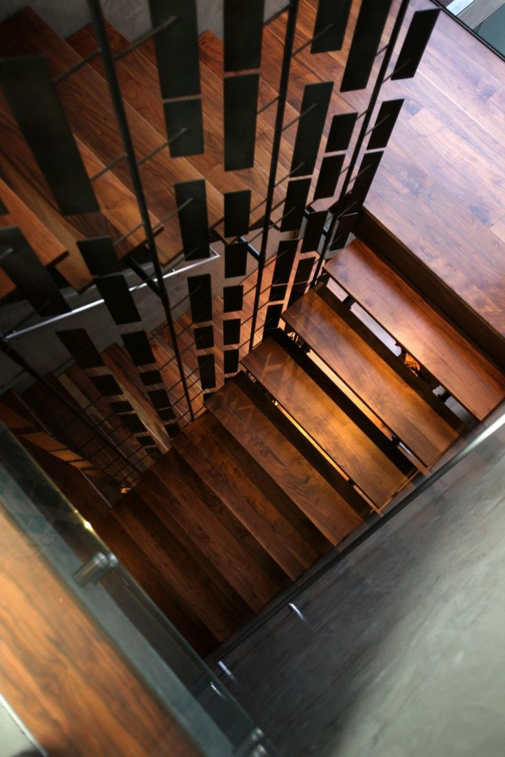 stairs and divider