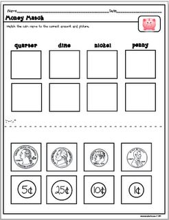 Printables Coin Value Worksheets 1000 ideas about money worksheets on pinterest heres a simple activity for introducing coins and coin values