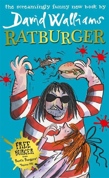 Booktopia - Ratburger by David Walliams, 9780007453535. Buy this book online.
