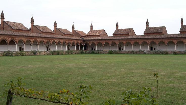 Certosa di Pavia 2016, celle clausura