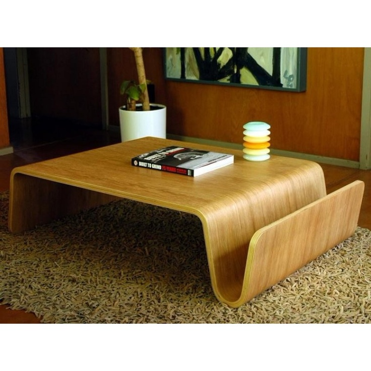 White Oak Scando Coffee Table Reproduction