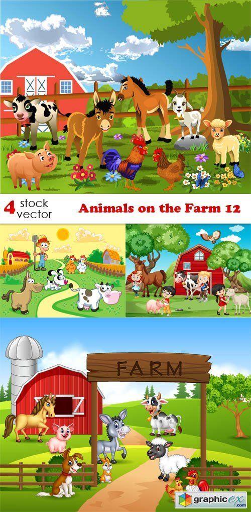 Animals on the Farm 12