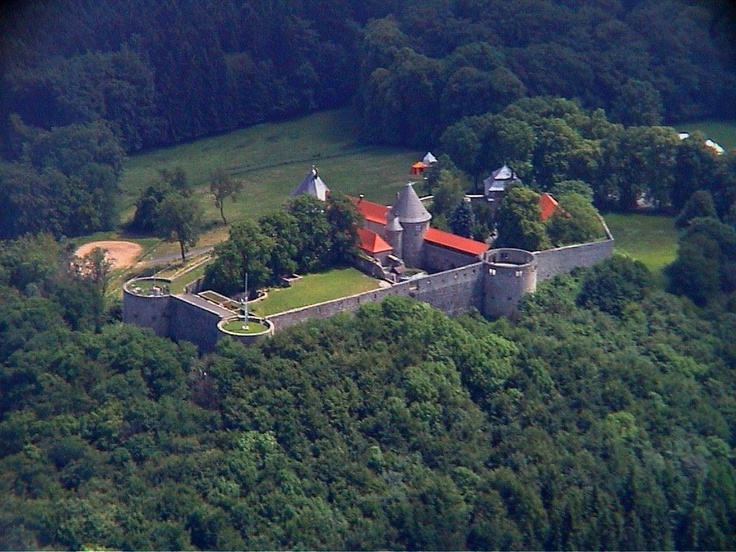 Burg Herzberg Luftaufnahme