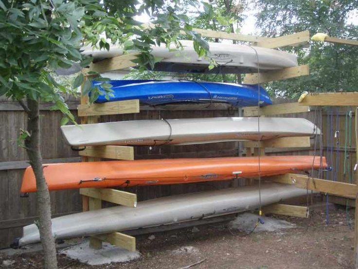 Kayak Storage Rack Plans - WoodWorking Projects & Plans