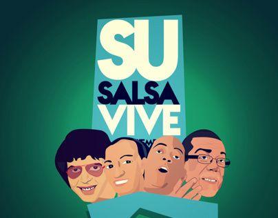 """Consulta este proyecto @Behance: """"SU SALSA VIVE POR SIEMPRE!"""" https://www.behance.net/gallery/9433709/SU-SALSA-VIVE-POR-SIEMPRE"""