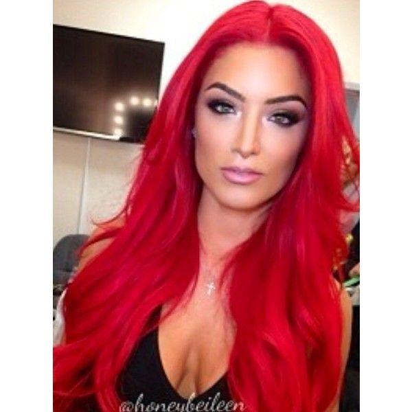Eva marie WWE Eva Marie ❤ liked on Polyvore featuring hair