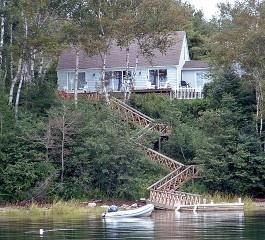 2600 cottage rental on orrs island maine waterfront cottage rh pinterest com