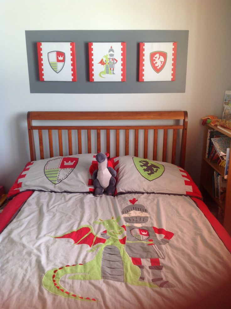 knight bedroom boy chambre chevalier garçcon