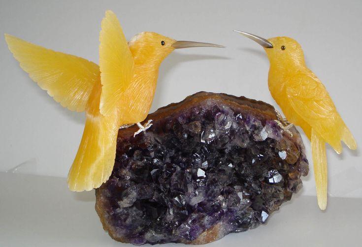 talladas a mano de piedras preciosas aves esculturas en piedras semi preciosas-Artesanías de Esculturas-Identificación del producto:101189790-spanish.alibaba.com