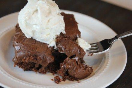 Copycat version of Cracker Barrel's Double Chocolate Fudge Cake from ...