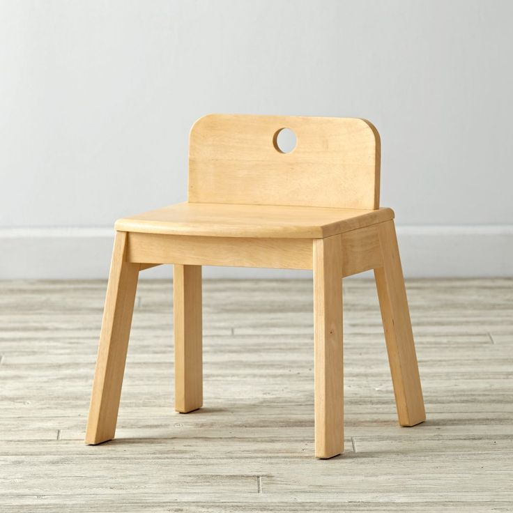 Shop Mojo Natural Kids Chair.  Our Mojo Kids Chair features an effortless design and will be sure to add a pop of vibrant color to the playroom.  Each sturdy chair is made from sustainable rubberwood and easily coordinates with any play table.