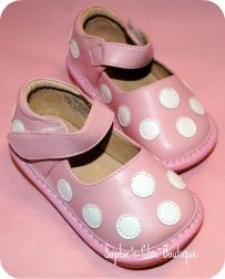 Light Pink and White Polka Dot Squeaky Shoe-Black and White Polka Dot Squeaky Shoe, Squeaky shoes at a discount, Toddler squeaky shoes, children's squeaky shoes, squeaky shoes for children, black squeaky shoes, sophie's chic boutique, little blue lamb squeaky shoes, squeaky shoe boutique, squeaky shoes wholesale, squeaker shoes, squeaky toddler shoes, squeaky baby shoes, sophie's boutique, squeaky shoes in Utah, little blue lamb squeaky shoes wholesale, squeak shoes, discount squeaky shoes…