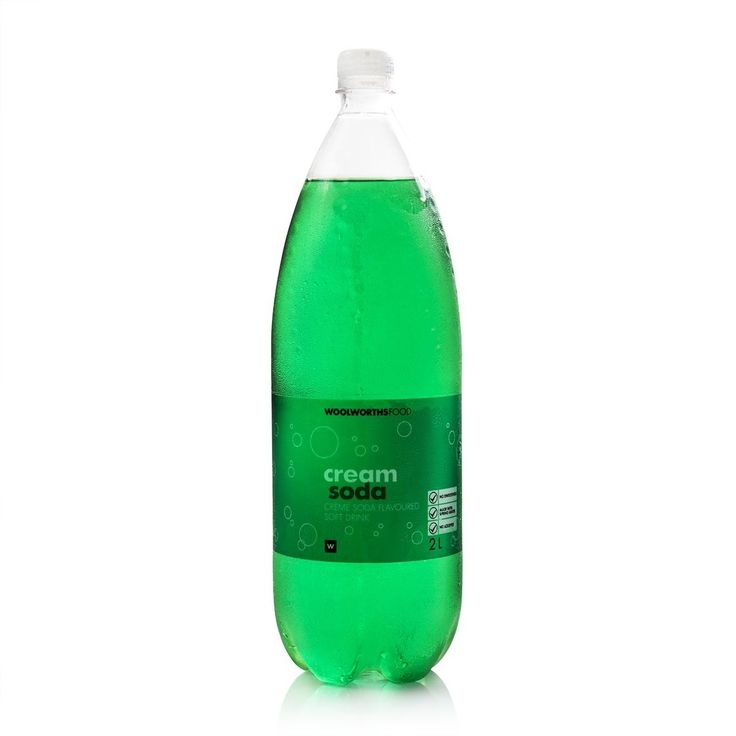 Cream Soda Soft Drink 2L