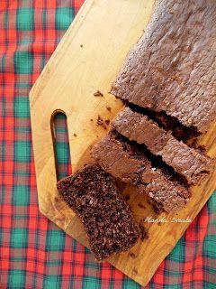 Otrębowe ciasto kakaowe (bez tłuszczu)