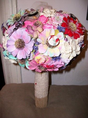 Love the evolution of the bouquet here