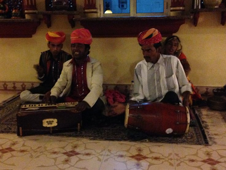 Great musicians in India.