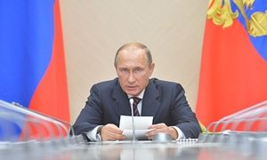 Russian president Vladimir Putin has received permission from parliament for Russian forces to take place in bombing raids