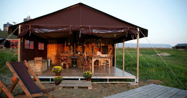 5 Gorgeous Upscale Camping Spots Just Outside Chicago via @PureWow