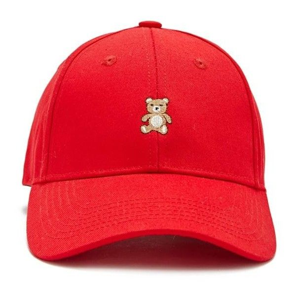 866229c0cc7 Forever21 Embroidered Teddy Bear Dad Cap ( 4.95) ❤ liked on Polyvore  featuring accessories