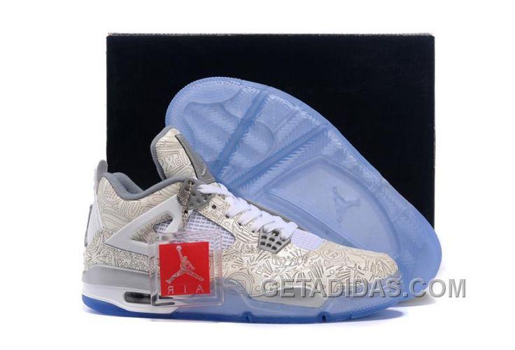 Cheap Air Jordan 4 Retro \u201cLaser\u201d White/Metallic Silver-White 2015 For Sale  from Reliable Big Discount ! Cheap Air Jordan 4 Retro \u201cLaser\u201d White/Metallic  ...