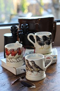 Churchmouse Yarns Teas - Emma Bridgewater Bird Mugs http://www.emmabridgewater.co.uk/icat/mugs