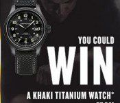 Gagnez une montre Khaki Titanium de Hamilton de 1050$