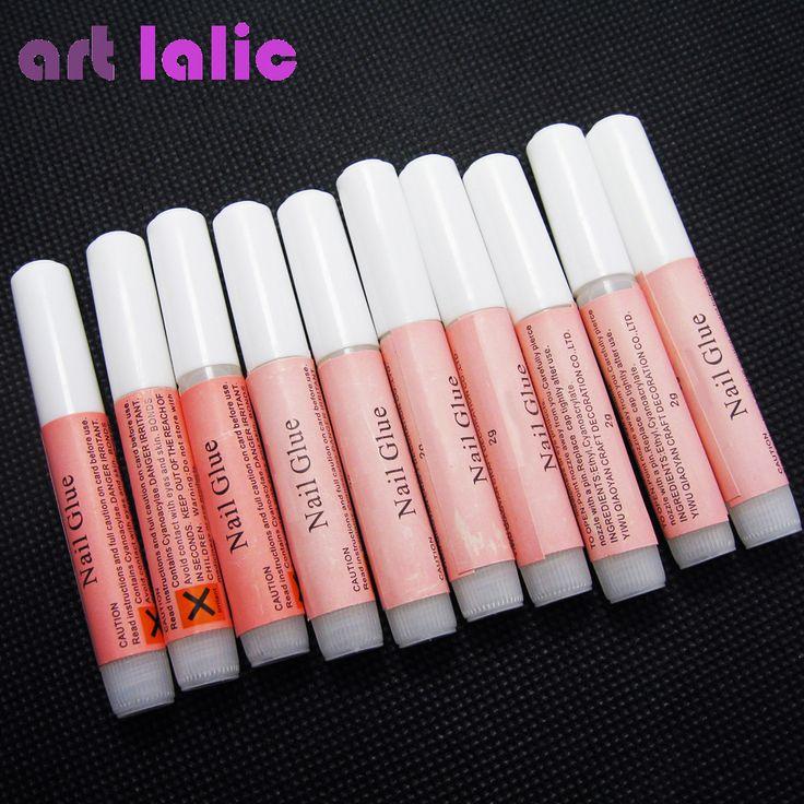 Best Nail Glue 10 x 2g Nail art Faluse Nail Tips Professional Acrylic Beauty Mini Glue user. Click visit to read descriptions