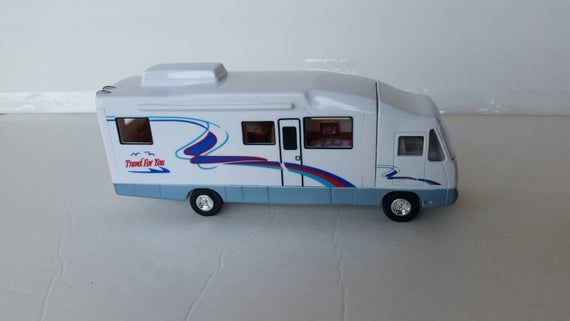 1997 Motor Home With Changeable Interior Design 12 Different Etsy In 2020 Motorhome Class B Camper Van Car Model