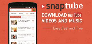 SnapTube - YouTube Downloader HD Video v3.1.2.8121 final  Jueves 01 de Octubre 2015.By : Yomar Gonzalez ( Androidfast )  SnapTube - YouTube Downloader HD Video v3.1.2.8121 final Requisitos: 2.1  Información general: SnapTube - Los videos downloader y música más fácil de YouTube. DESCARGAR EN VARIAS RESOLUCIONES Videos MP4 están disponibles en las resoluciones: elegir el pequeño tamaño de 360 píxeles o la alta definición de 720 píxeles. DESCARGAS MP3 DIRECTOS Descargar cualquier video musical…