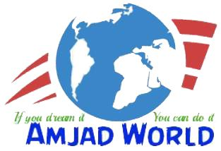 Amjad World with New Logo