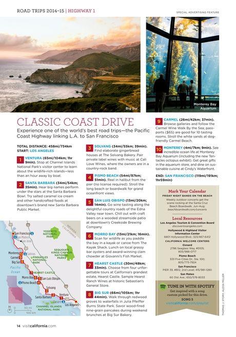 California Road Trips 2014