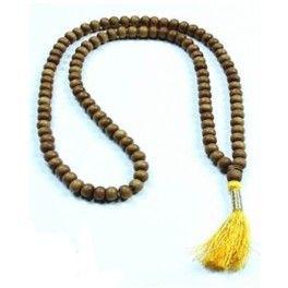 Mala (bedekrans) af sandeltræ