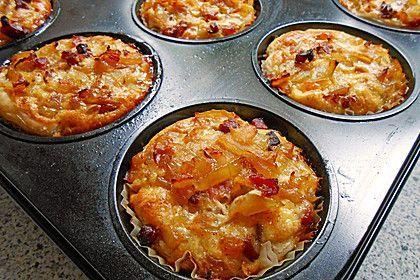 Zwiebelkuchen - Muffins (Rezept mit Bild) von Steffi*4   Chefkoch.de