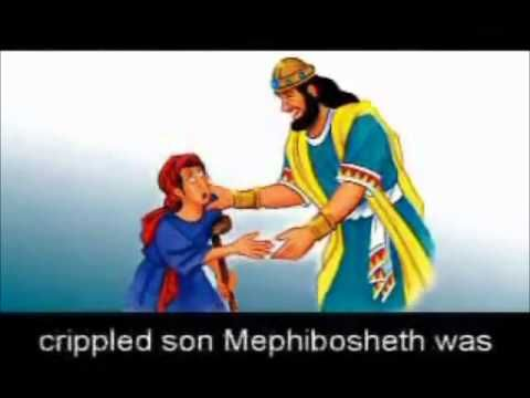 God Helps Me To Be Kind David Is Mephibosheth