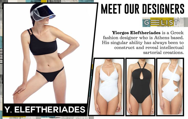 Meet YIORGOS ELEFTHERIADES! The immediacy and authenticity of the clothing execution is an integral part of the designer's artistic intentions. Yiorgos Eleftheriades composes graceful unrestricted silhouettes whose dynamic nature consistently maintain balance together with fluidity. The clothing shapes and environmentally conscious choice of garments participate in a game of eclectic refinement as the designer's values remain rooted in functionality, diversity, tailoring and liberation.