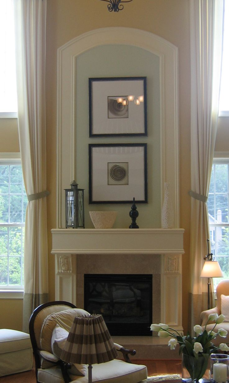 17 best images about fireplace ideas on pinterest for Great room designs with fireplace
