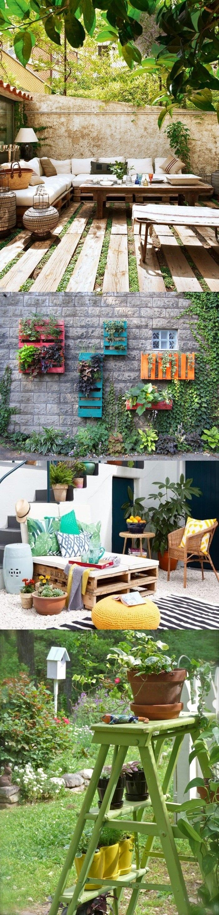 Decora tu terraza a bajo costo / http://www.tendenciasydecoracion.com/