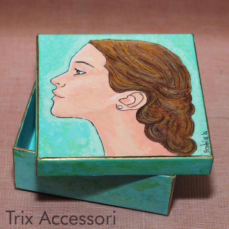 jewelry box hand painted