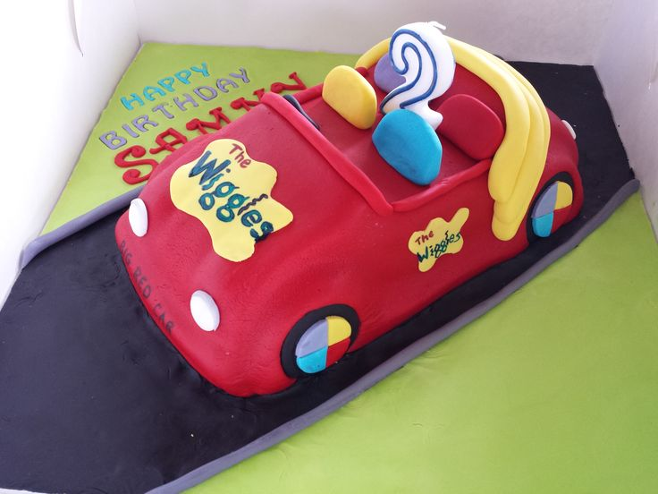 Big Red Wiggles car  https://www.facebook.com/SweetToppers?ref=hl